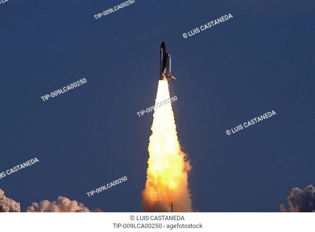 USA Florida,Kennedy Space Center.Shuttle launch