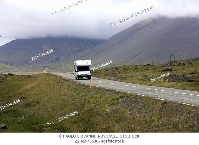 Scenery along the Ring Road, Iceland, Europe