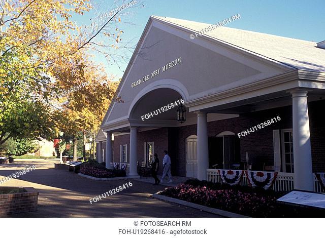 Nashville, TN, Tennessee, Opryland USA, Grand Ole Opry Museum