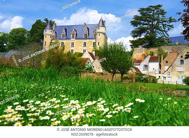 Montresor, Castle, Labelled Les Plus Beaux Villages de France, The Most Beautiful Villages of France, Indre-et-Loire, Pays de la Loire, Loire Valley