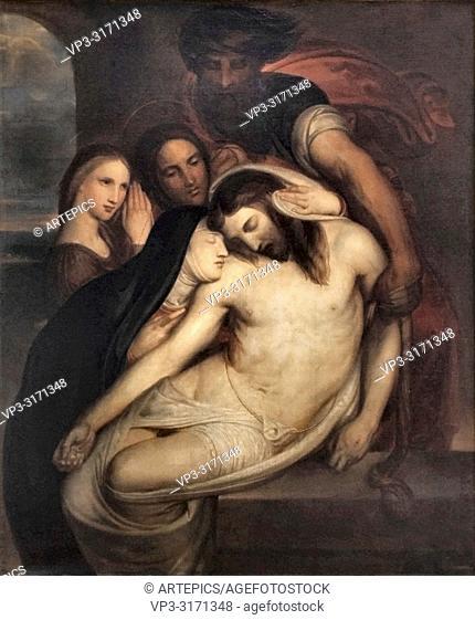 Wiertz Antoine - Triptychon 3 - the Entombment of Christ