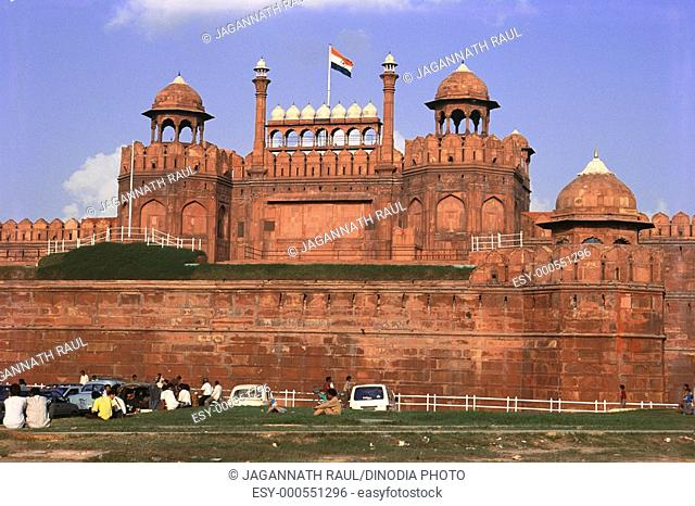 Red fort , Delhi , India