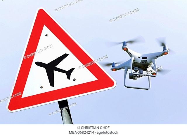 Drone, drone ban, flight operation