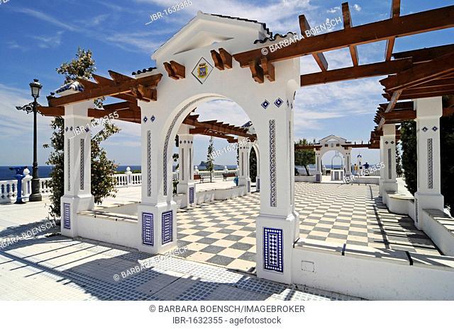Balcony of the Mediterranean, observation deck, Benidorm, Costa Blanca, Alicante, Spain, Europe
