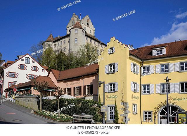 Old Castle, Meersburg, Baden-Wuerttemberg, Germany