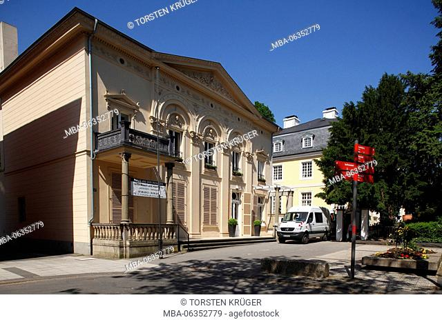 House in the redoubt, classicism palace, Bonn Bad Godesberg, Bonn, North Rhine-Westphalia, Germany, Europe