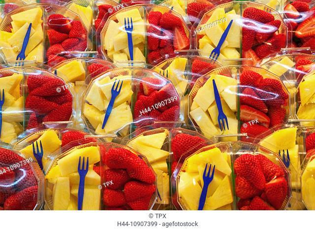 Europe, Spain, Barcelona, Ramblas, La Boqueria Market, Ramblas, La Boqueria, Fruit, Fresh Fruit, Exotic Fruit, Healthy Eating, Market, Markets, Food Market