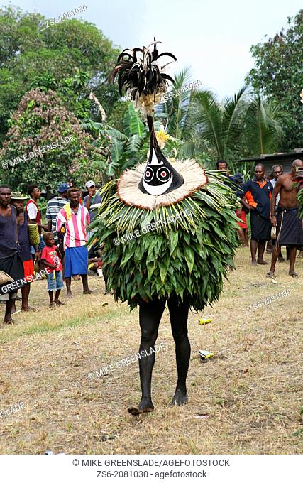 Tubuans at a Tolai Death Ceremony, Matupit Island, East New Britain, Papua New Guinea