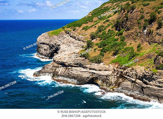 Kilauea Point National Wildlife Refuge, Kilauea, Island of Kauai, Hawaii USA