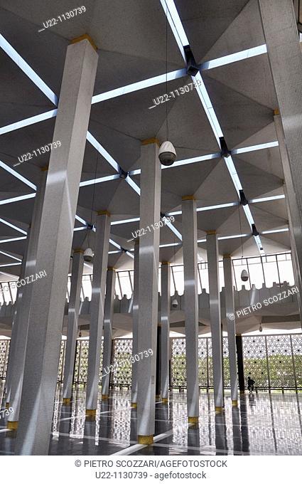 Kuala Lumpur (Malaysia): the National Mosque