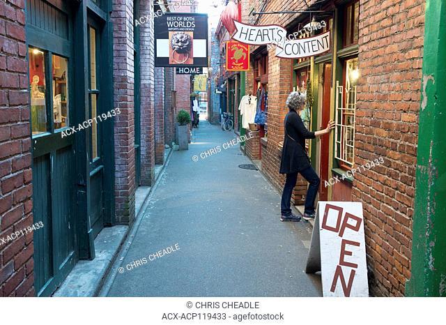 Fantan Alley, Chinatown, Victoria, British Columbia, Canada