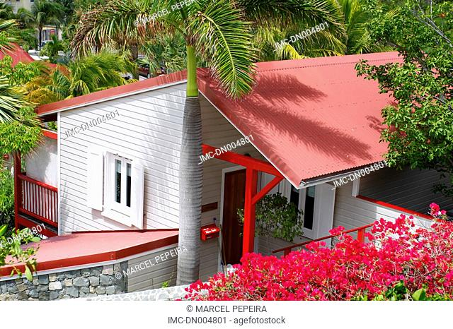 French West Indies, Guadeloupe, Saint Barthelemy, house