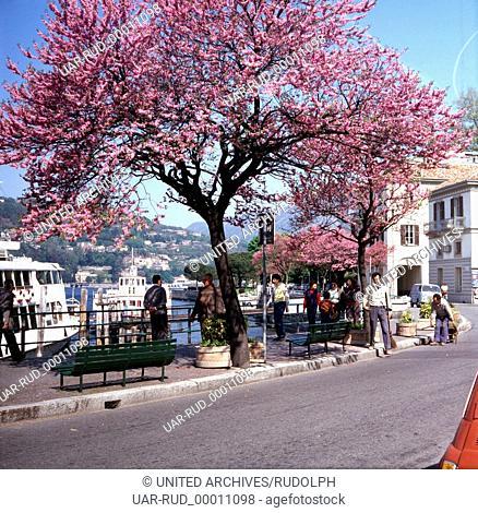 Reise nach Oberitalien, 1980er Jahre. Journey to Upper Italy, 1980s