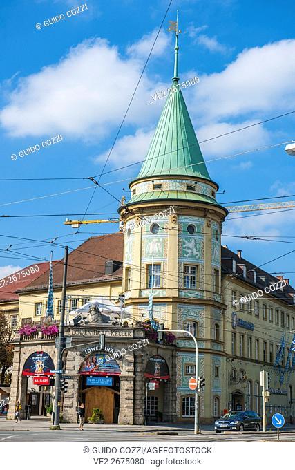 Lowenbrau beerhouse, München (Munich), Bavaria (Bayern), Germany