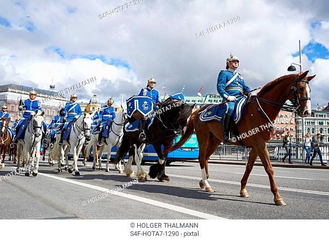 Schweden, Stockholm, Militärparade