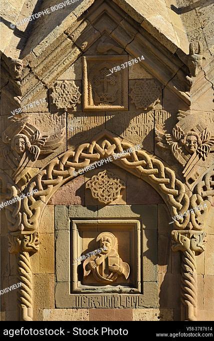 Iran, East Azerbaijan province, Jolfa region, Unesco World Heritage Site, Saint Stepanos monastery
