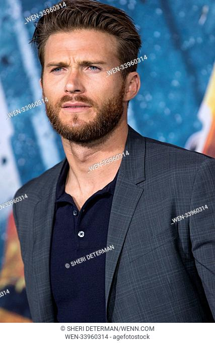 Universal's 'Pacific Rim Uprising' Premiere was held at the TCL Chinese Theatre IMAX in Hollywood, California Featuring: Scott Eastwood Where: Los Angeles