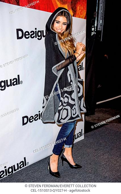 Madison Beer in attendance for DESIGUAL Spring Summer 2016 Fashion Show, The Arc - Skylight At Moynihan Station, New York, NY September 10, 2015