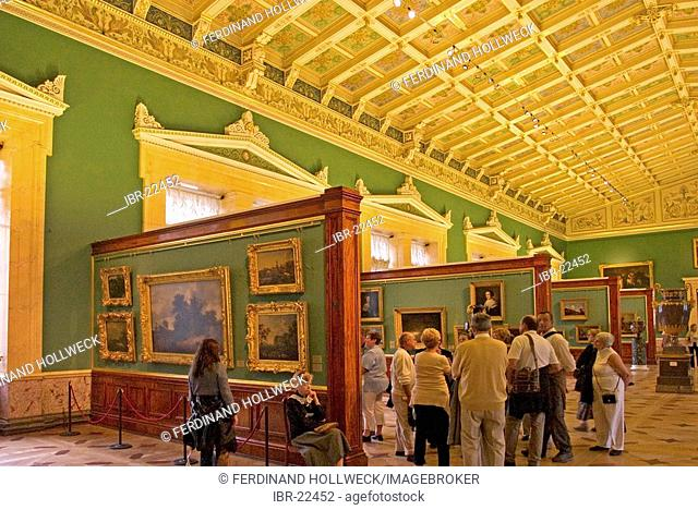 Ermitage museum palace Stock Photos and Images | age fotostock