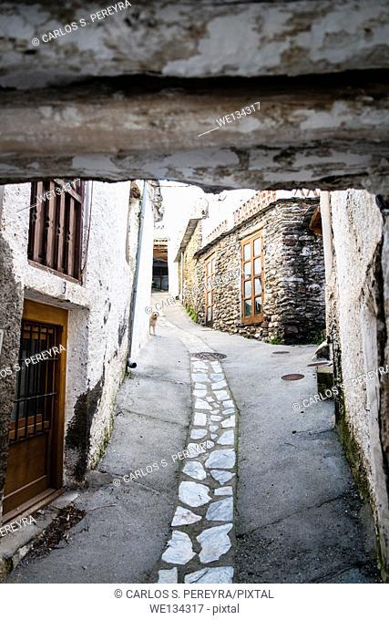 Village of Medina Fondales at Alpujarras, Andalusia, Spain