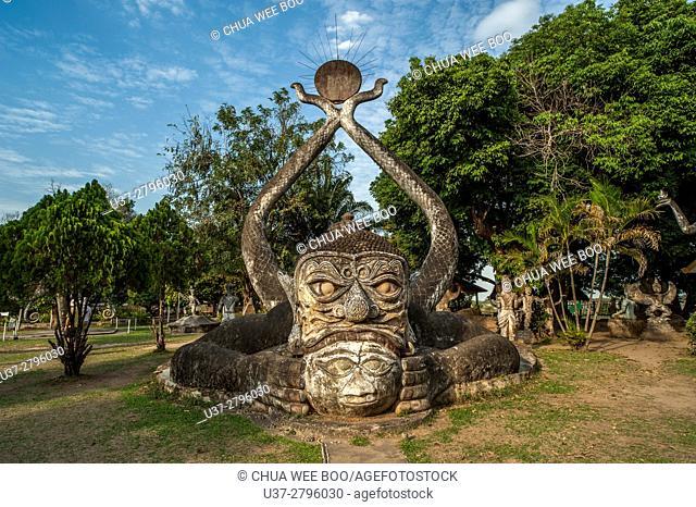 Xieng Kuane Buddha Park, Laos