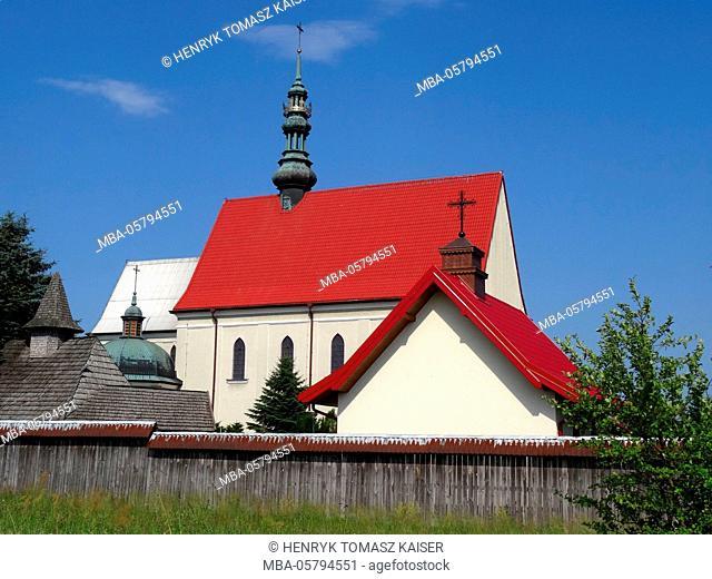 Sanctuary in Kalkow, Poland