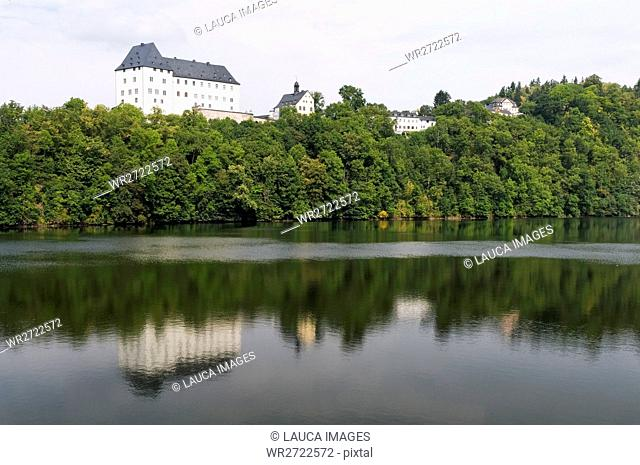 Architecture, destination, view, views, field recording, FRG, architectural style, building, look, glance, federal republic, castle, Germany, Europe, tourism