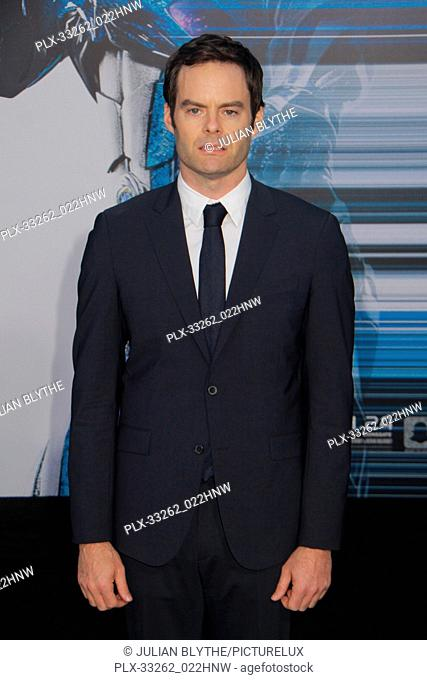"""Bill Hader 03/22/2017 """"""""Power Rangers"""""""" Premiere held at the Westwood Village Theater in Westwood, CA Photo by Julian Blythe / HNW / PictureLux"""