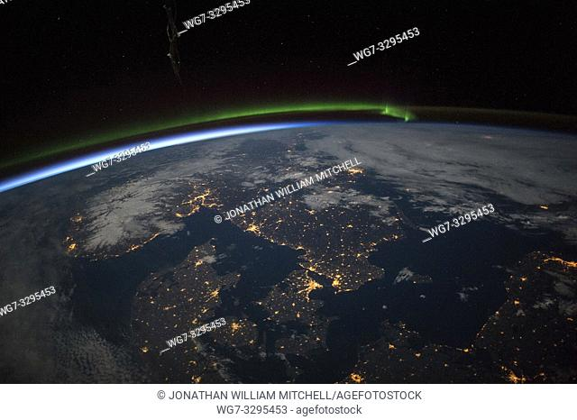 EARTH Scandinavia -- May 2015 -- This remarkable image taken by an astronaut on the International Space Station shows the Baltic and the countries of Norway