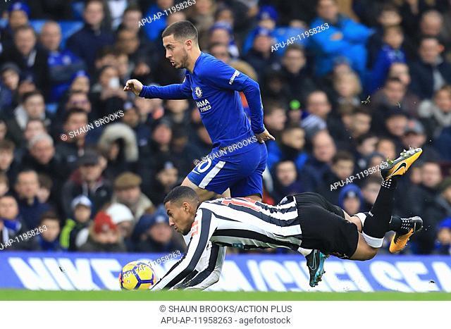 2017 EPL Premier League Chelsea v Newcastle Utd Dec 2nd. 2nd December 2017, Stamford Bridge, London, England; EPL Premier League football