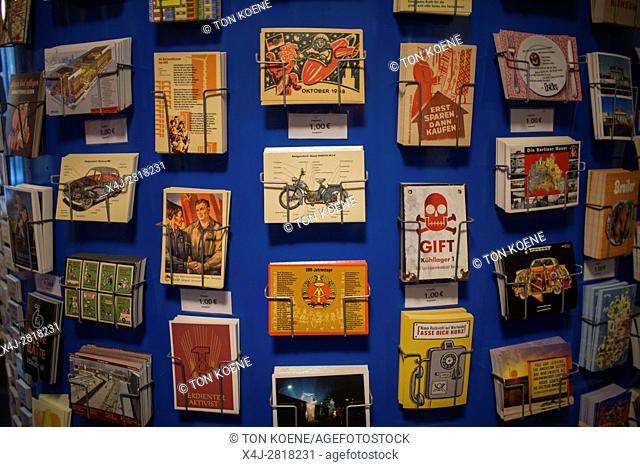 postcards as souvenir in Berlin