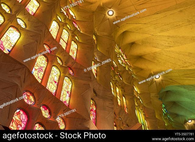 Inside Barcelonaâ. . s Sagrada Família