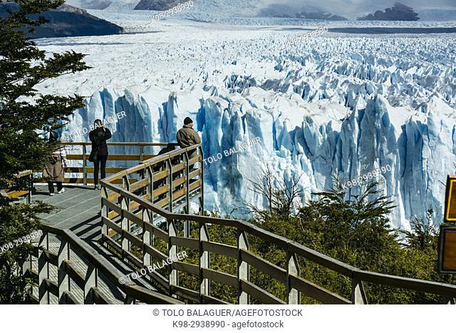 glaciar Perito Moreno, Parque Nacional Los Glaciares, departamento Lago Argentino, provincia de Santa Cruz, Patagonia, Argentina