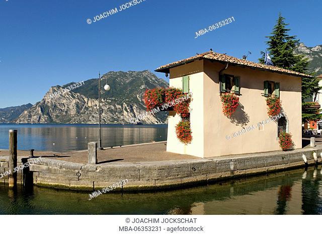 Torbole, Lake Garda, province Trento, Trentino South Tirol, Italy