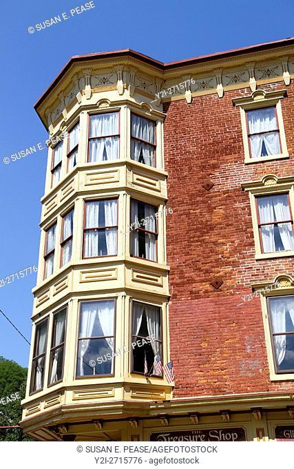 Architectural details, Jim Thorpe, Pennsylvania, United States, North America
