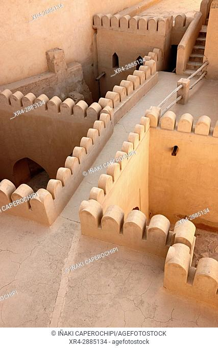Inside the fort. Nizwa, Oman