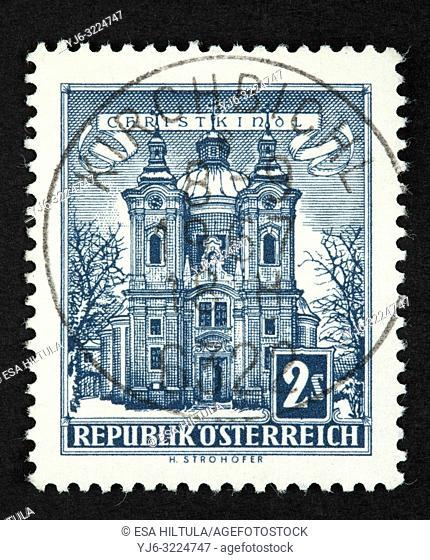 Austrian postage stamp