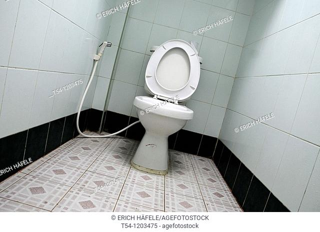 Toilet in Cambodia