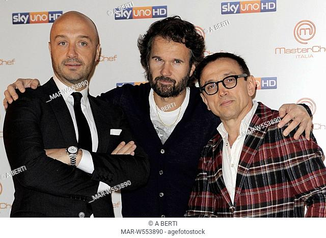 joe bastianich, bruno barbieri, carlo cracco
