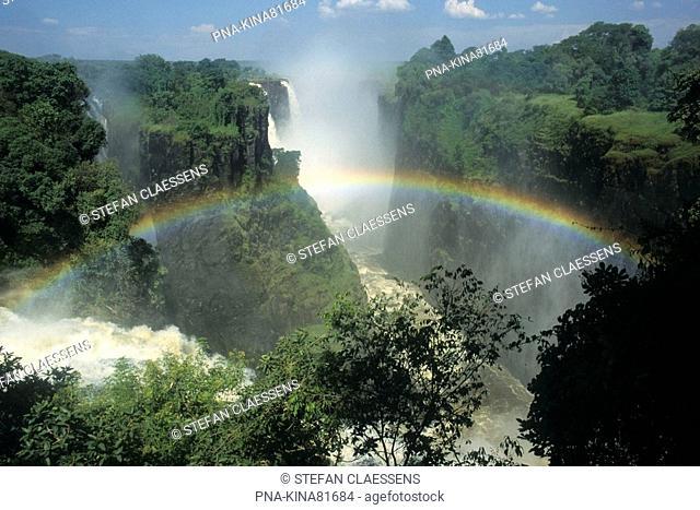 Victoria falls, Zambesi, Zimbabwe, Africa