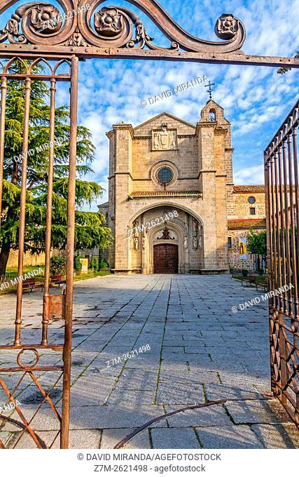 Monasterio de Santo Tomás y Palacio de los Reyes Católicos, Santo Tomás Monastery and Catholic Monarchs Palace, Avila, Castile and Leon, Spain