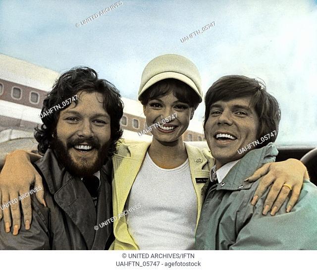 Coffee, Tea Or Me, Fernsehfilm, USA 1973, Regie: Norman Panama, Darsteller: Michael Andeson jr., Karen Valentine, John Davidson