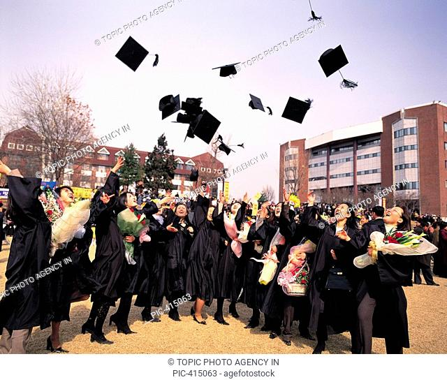 Graduation Ceremony, Korea