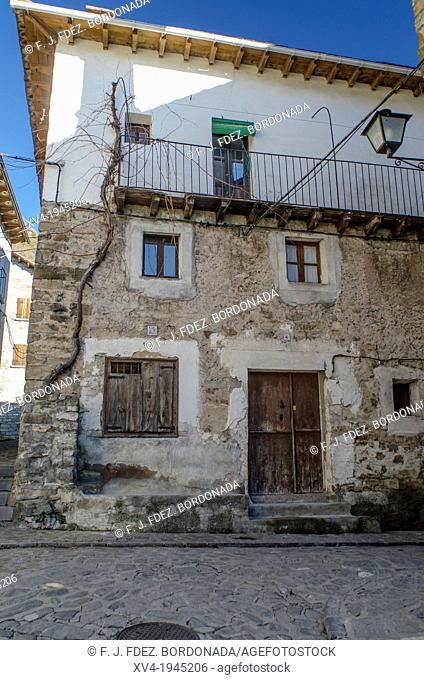Rural architecture of Siresa village, Hecho Valley, Huesca, Spain