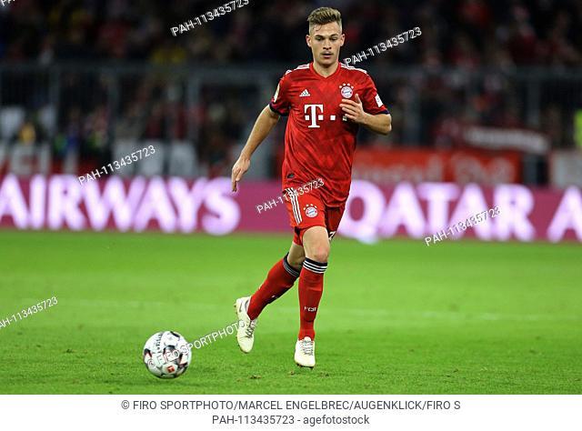 firo: 08.12.2018, Fuvuball, 1.Bundesliga, season 2018/2019, FC Bayern Munich - 1.FC Nvºrnberg 3: 0, Joshua Kimmich, Bayern Munich, Munich, Munich Munich