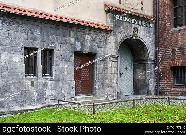 Markisches Museum in central Berlin Germany