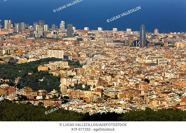 Barcelona: as seen from Collserola Park