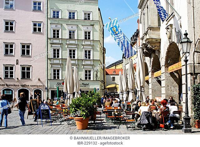 Platzl Munich Muenchen Upper Bavaria Germany