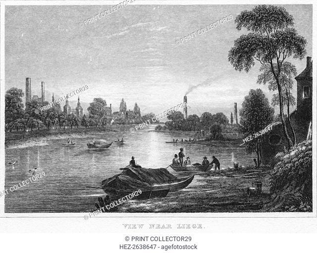 'View near Liege', 1850. Artist: Unknown
