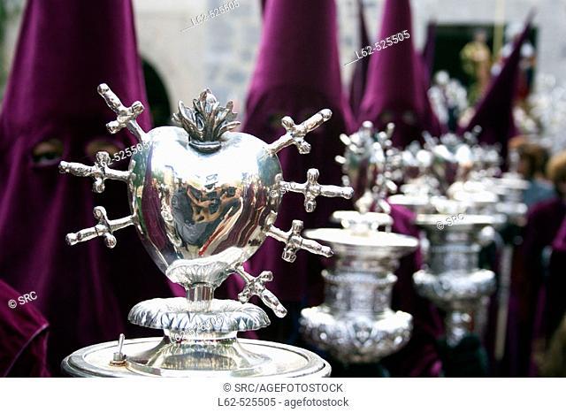 Holy Wednesday procession. Cofradía de Nuestro Padre Jesus. Orihuela. Alicante province. Comunidad Valenciana. Spain